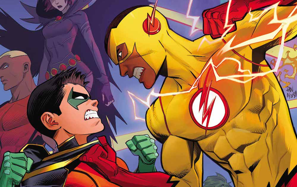 cover to Teen Titans 14, 2017