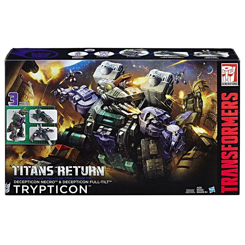Trypticon!  Image: Hasbro