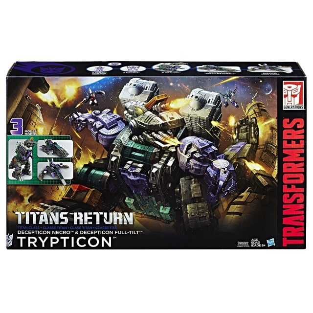 Trypticon!  Image: Hasbro
