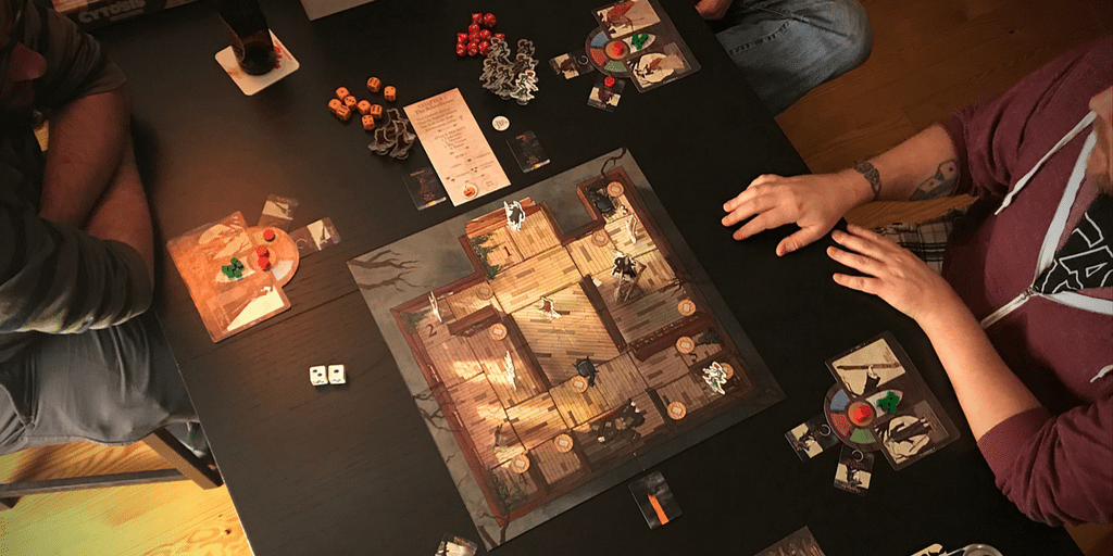 Legends of Sleepy Hollow board game