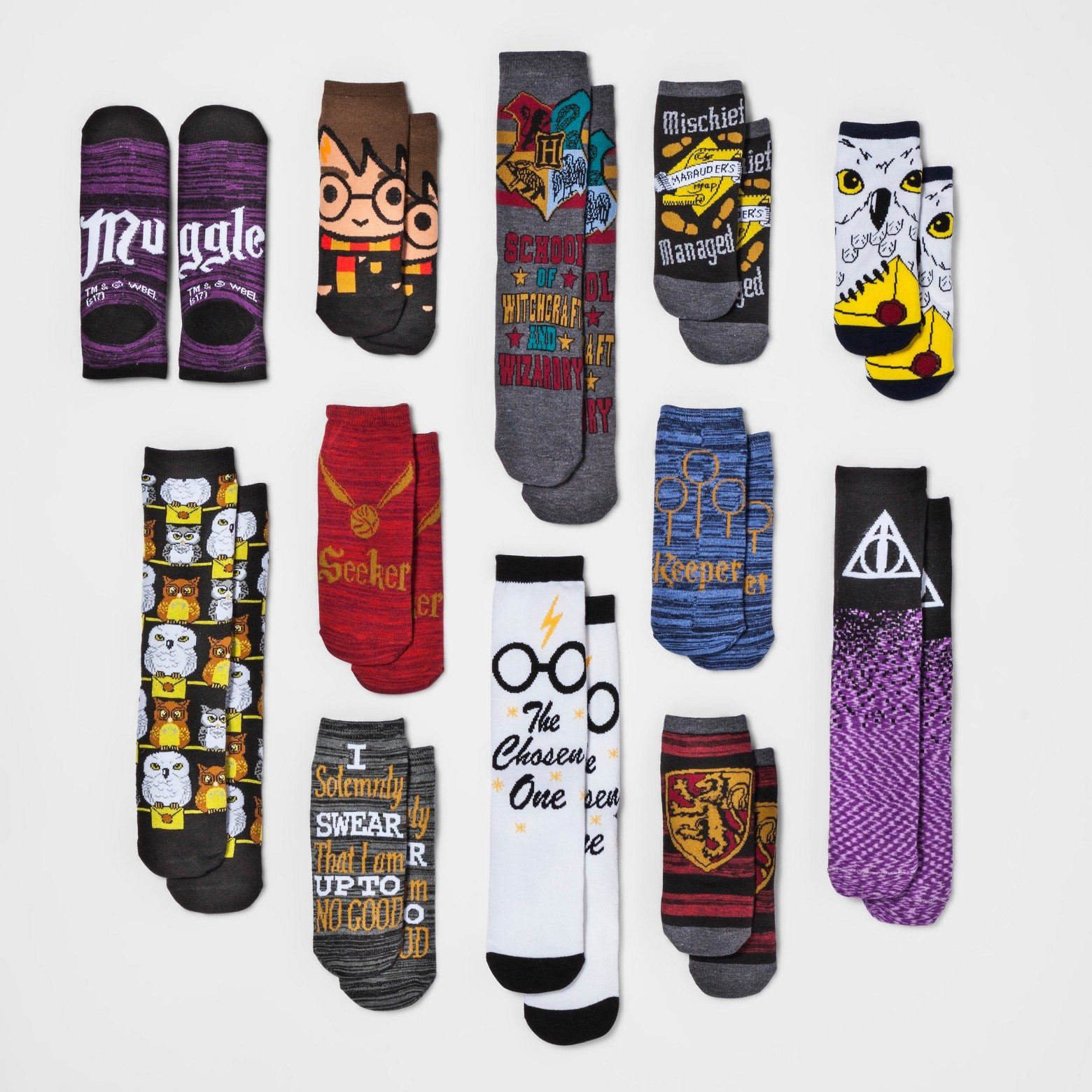 Target Celebrates The 12 Days Of Christmas With Geeky Socks