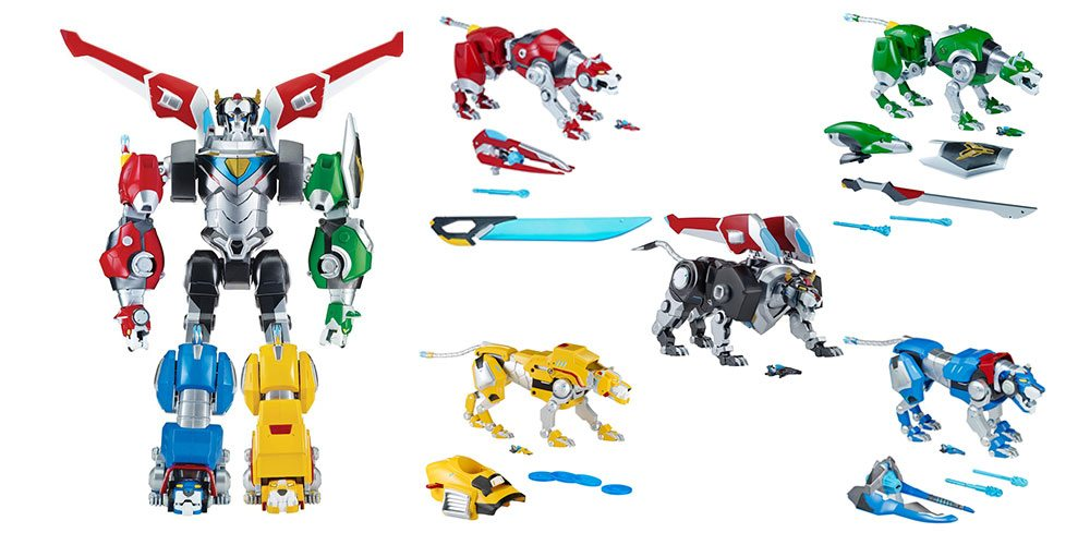 Review: The Voltron Deluxe Lion Assortment