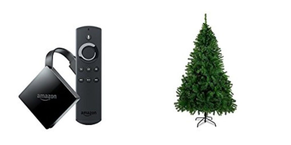 Geek Daily Deals Dec. 2, 2017: New 4K Fire TV for $50; Get Your Christmas Tree Delivered