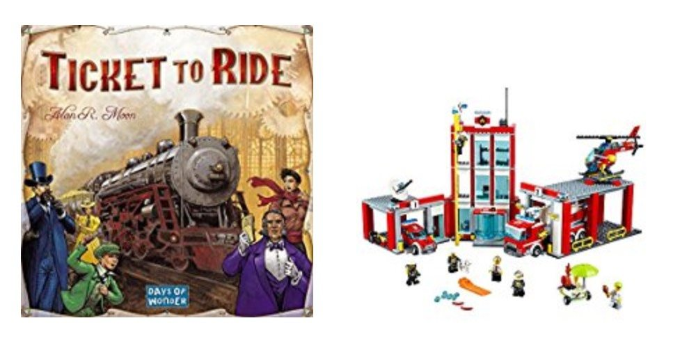 Geek Daily Deals Dec. 7, 2017: BIG TABLETOP GAME SALE, Save on LEGO City Sets