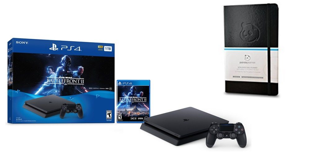 Geek Daily Deals Dec. 15, 2017: 1 TB PS4 'Battlefront II' Game Console Bundle for $249; Panda Organizer
