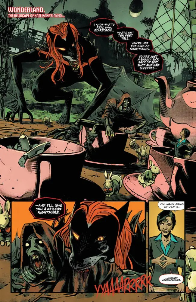 Batwoman #10 page 1 Scarecrow