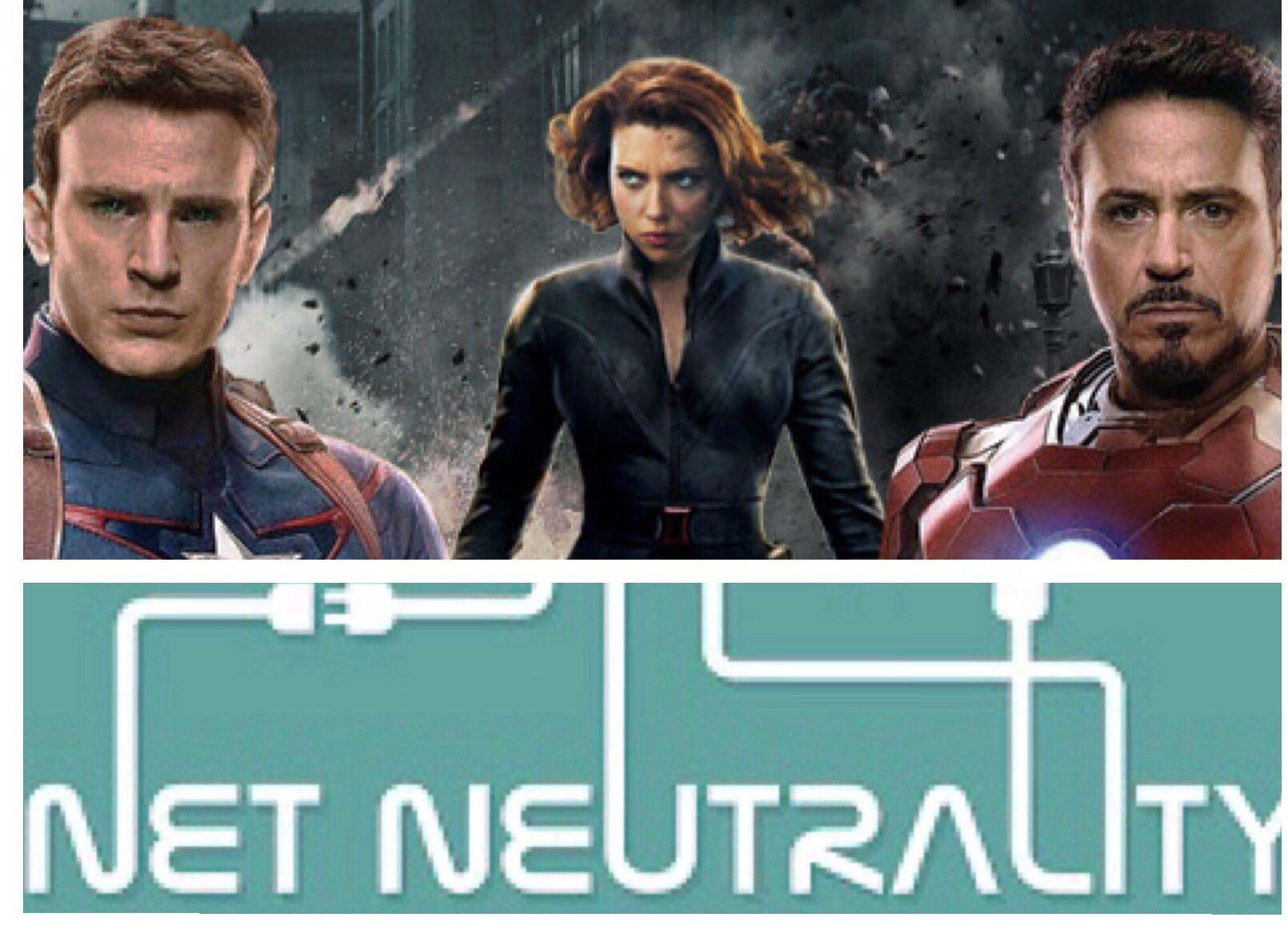 Save Net Neutrality: Be an Avenger