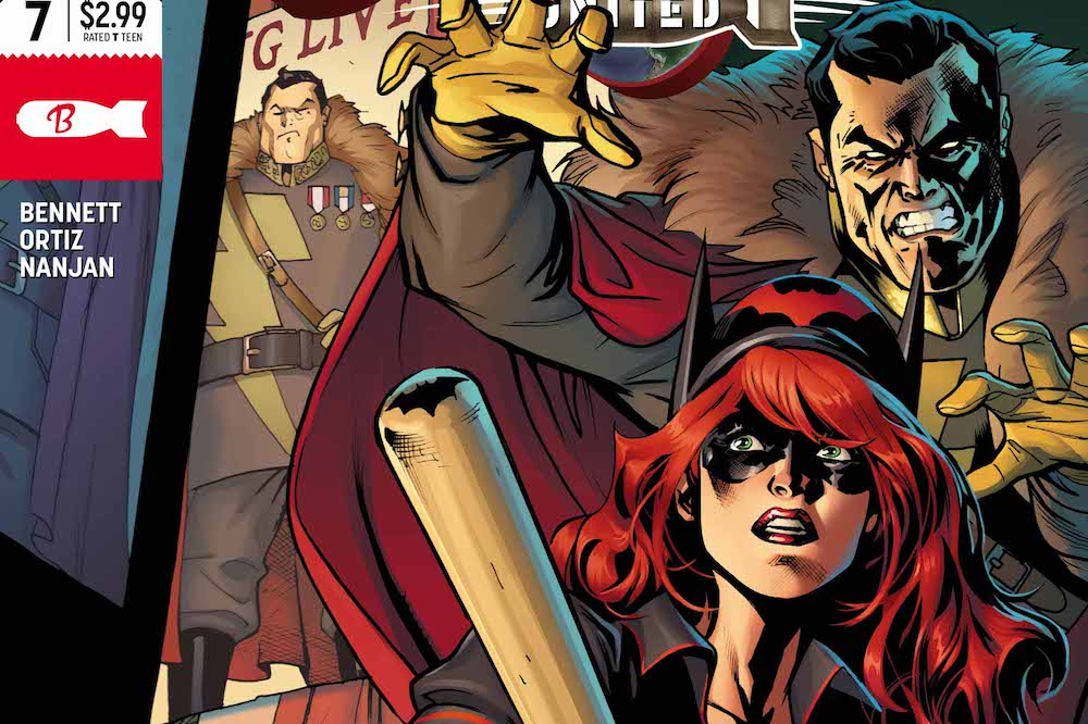 Review – Bombshells United #7: Batwoman & Renee Montoya: The Resistance