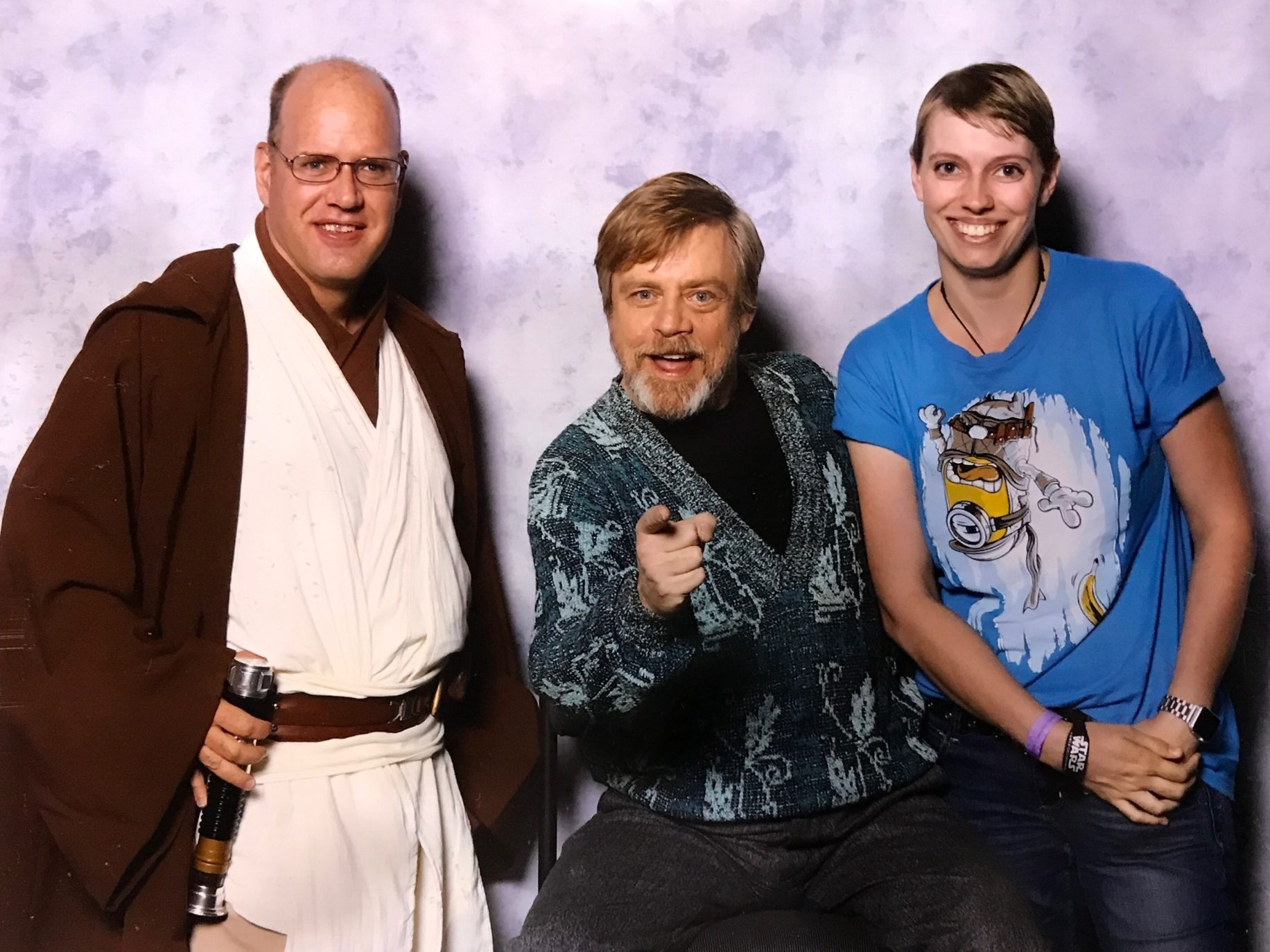 I love Mark Hamill but I won't get to see his latest performance.  Image: Dakster Sullivan