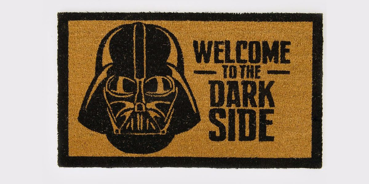 Dark Side Door Mat  Image: Spencers