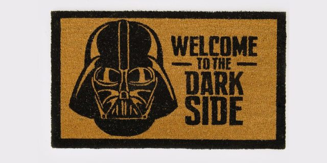 Dark Side Door Mat \ Image: Spencers
