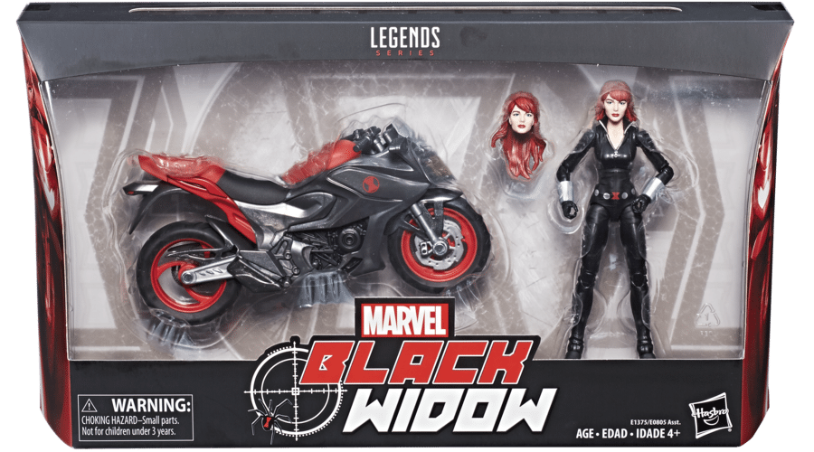 A Look at the New Marvel Legends 6-inch Black Widow and Ghost Rider Vehicles