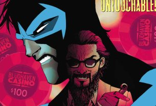 Nightwing #35 cover
