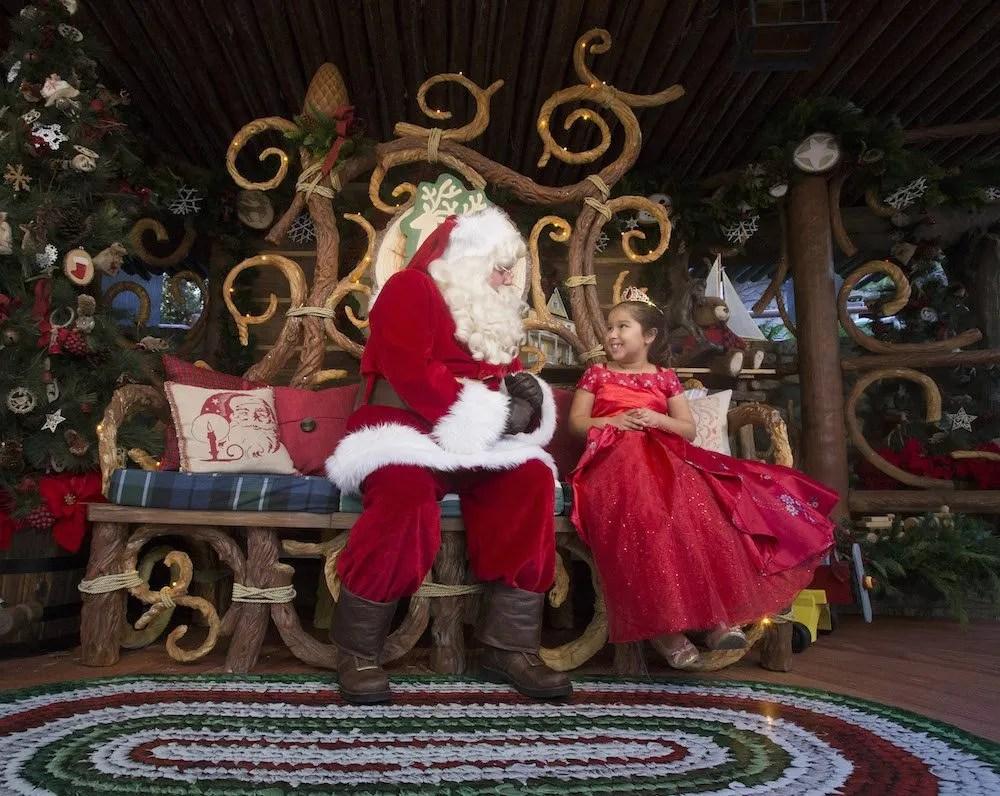 Disneyland holidays Santa