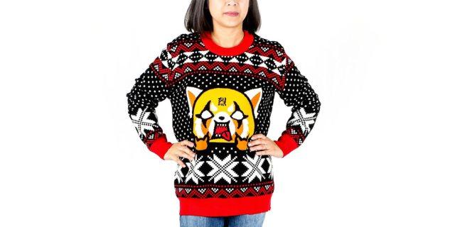 "Aggretsuko ""Ugly"" Sweater"