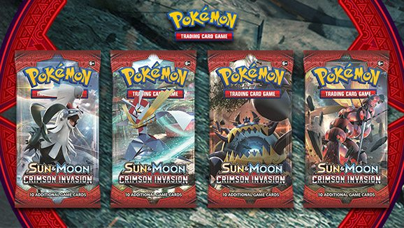 Booster Packs, Image: Pokemon