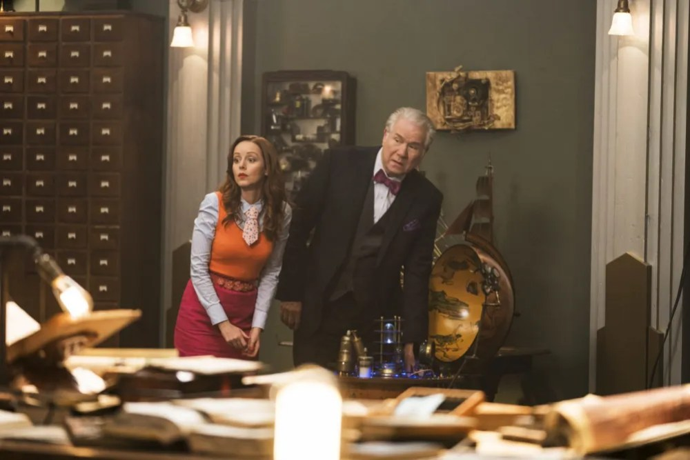 conversation with Lindy Booth about The Librarians Season 4