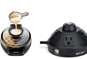 Geek Daily Deals 011018 waffle maker power strip