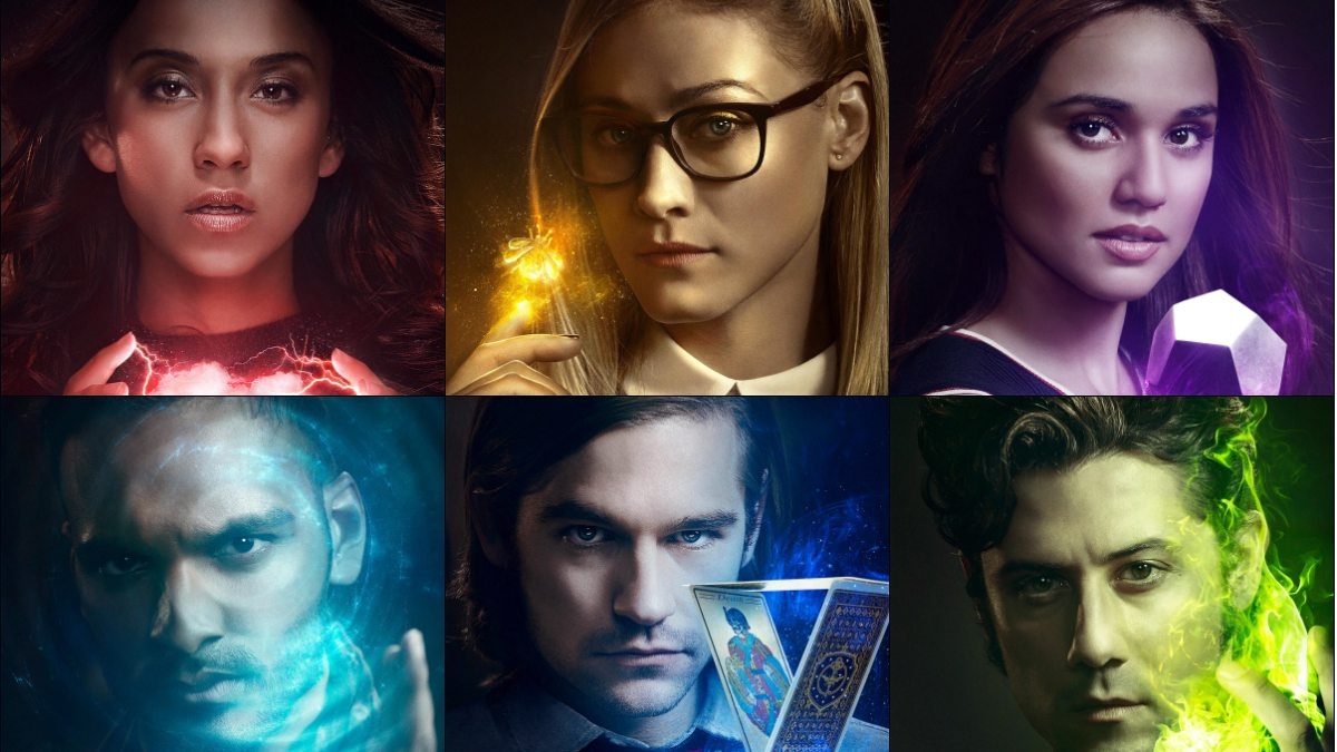 The Magicians Character Collage