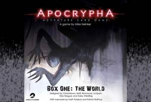 Apocrypha Adventure Card Game cover