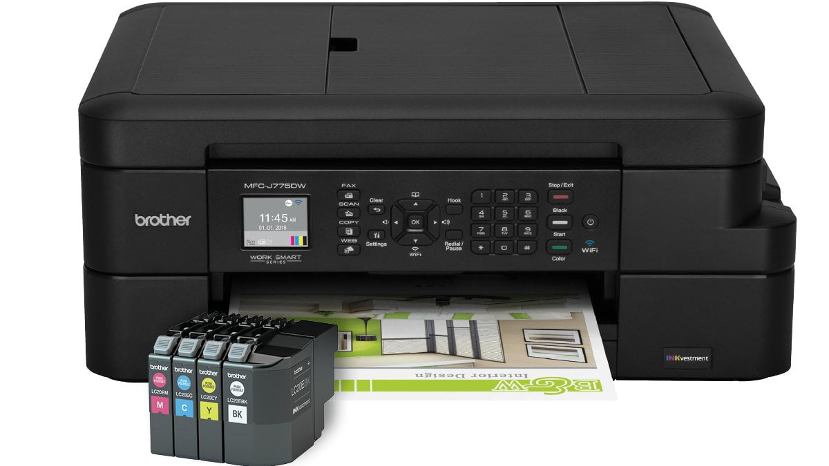 Brother MFC-J775dw All-in-One Inkjet Printer Glamour Shot