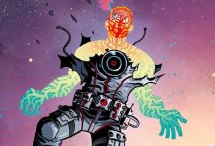 Cave Carson Interstellar Eye #1 cover
