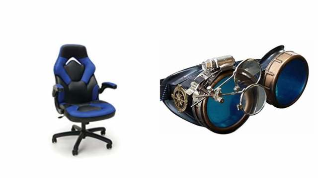 Geek Daily Deals 030818 gaming chairs steampunk goggles