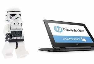 Geek Daily Deals 031418 stormtrooper clock HP convertible computer