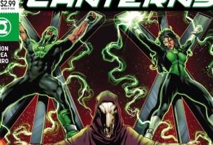 Green Lanterns #42 cover