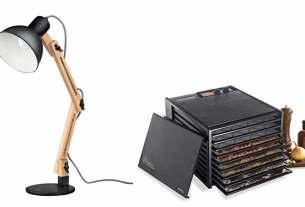 Geek Daily Deals 041318 desk lamp food dehydrator