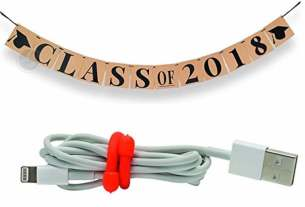Geek Daily Deals 042918 graduation banner cable ties