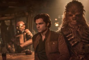 Han Solo and Chewbacca in 'Solo: A Star Wars Story.'