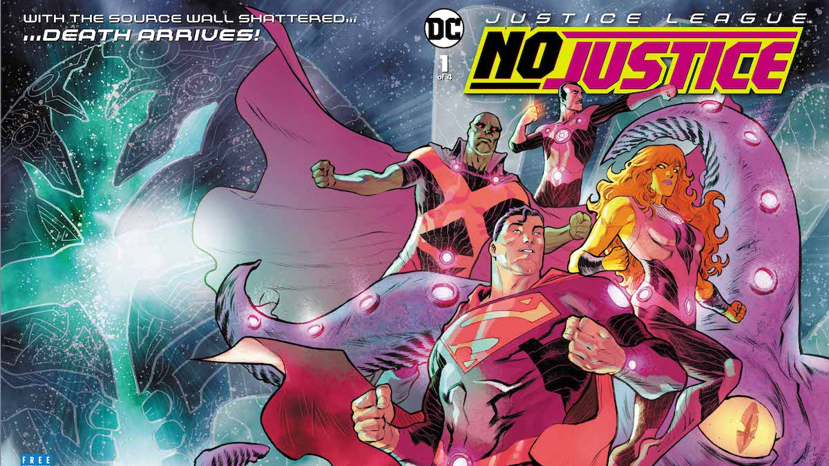 Justice League No Justice #1 cover
