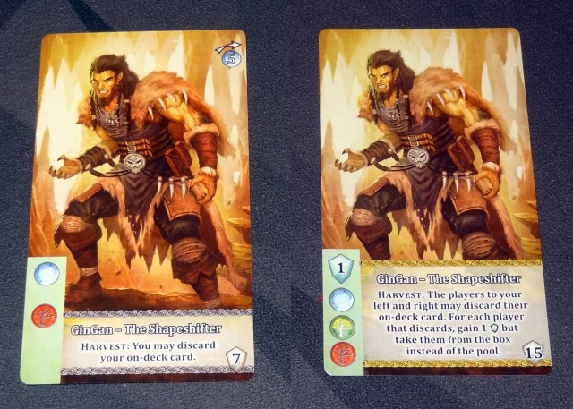 Mystic Vale: Vale of the Wild GinGan leader card