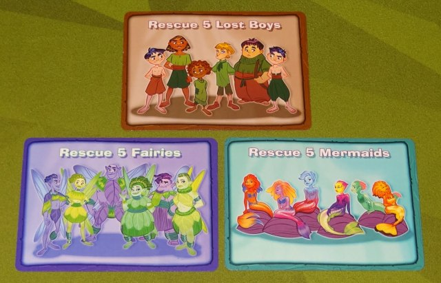 The Neverland Rescue goal cards