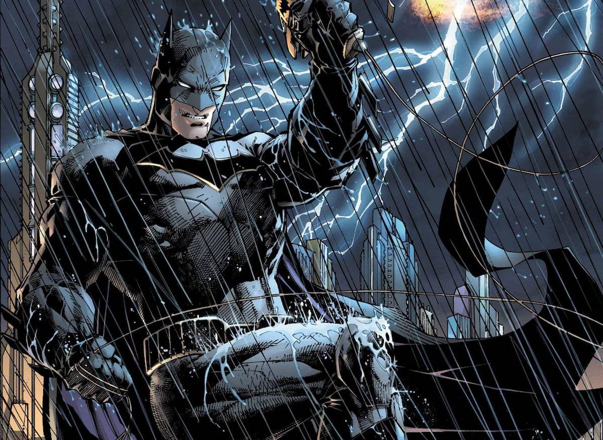 Justice League #1 Lee Batman cover