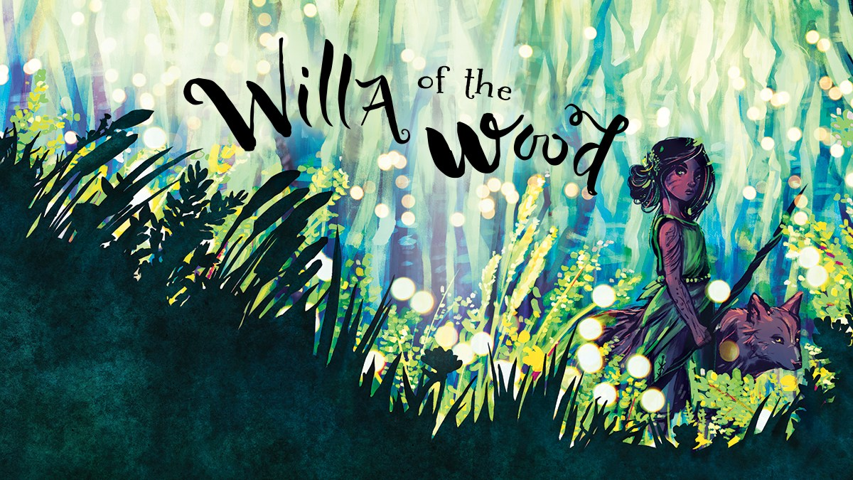 Cover art for 'Willa of the Wood'. Used with permission.