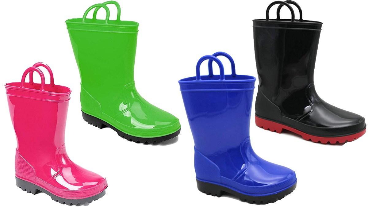 Geek Daily Deals 091518 kids rain boots
