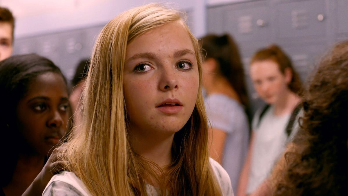 Elsie Fisher as Kayla in 'Eighth Grade'