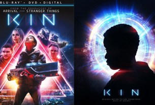KIN movie Blu-ray and vinyl soundtrack
