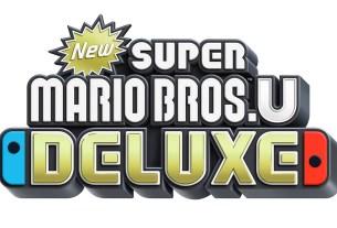 New Super Mario Bros. U Deluxe logo - image: NOA