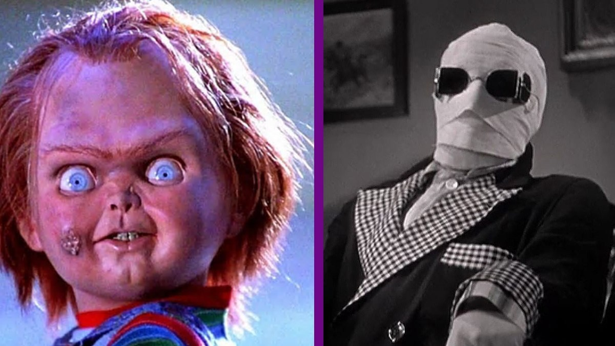 'Child's Play' Chucky and Universal's Invisible Man