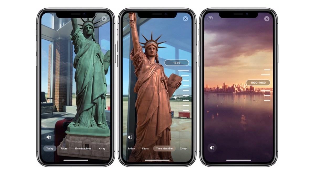 Statue of Liberty iOS app
