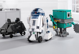 The LEGO Star Wars BOOST Droid Commander Set features three famous droids.Image Credit: the LEGO Group
