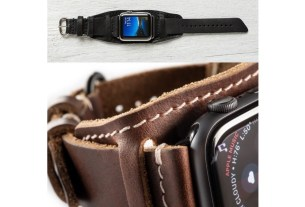 Lowry Leather Cuff Apple Watch