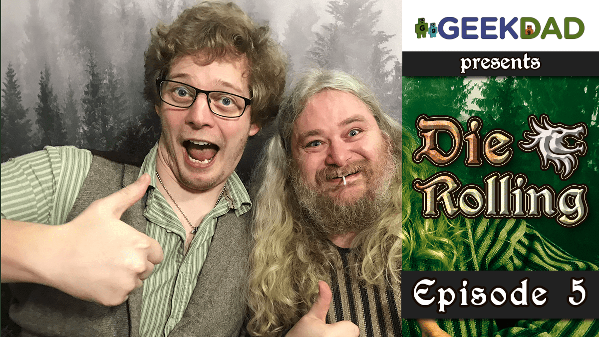 D&D Actual Play | GeekDad.com presents DieRolling: The Star Engine | Episode 4
