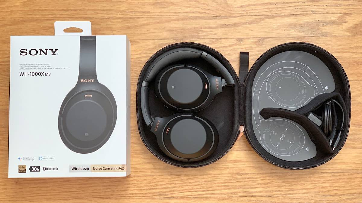 Sony 1000X M3 Bluetooth noise cancelling headphones review