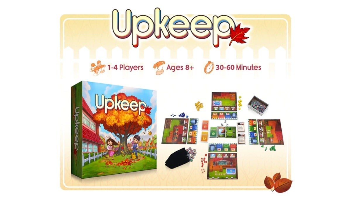 Upkeep Game Kickstarter