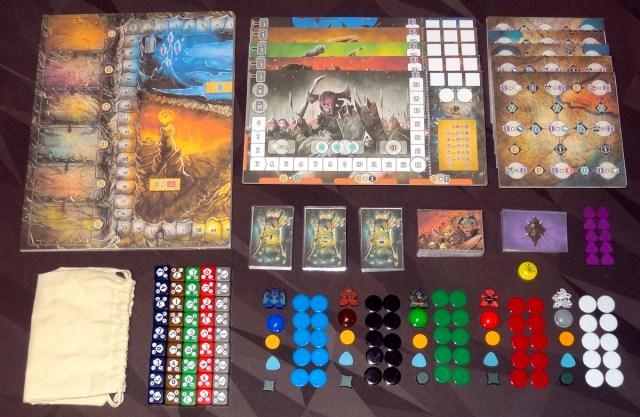 Shadow Kingdoms of Valeria components
