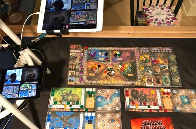 Shadow Kingdoms of Valeria setup for remote play
